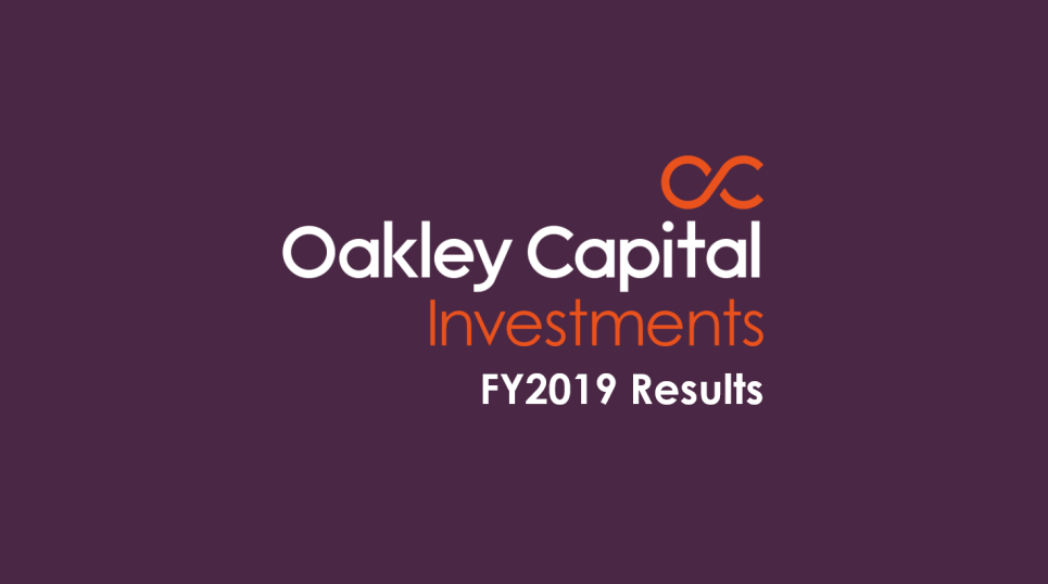 2019 Annual Results Highlights - Oakley Capital Investments